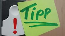 Zettel Tipp